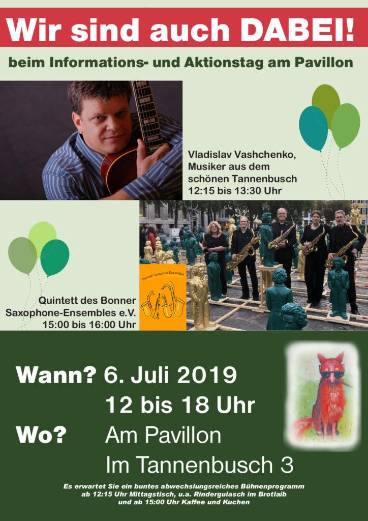 Plakat zum Sommerfest der Dünenfüchse 2019