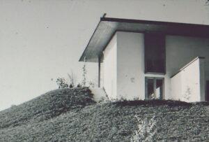Landhaus von Ludwig Erhard am Tegernsee, ca. 1954