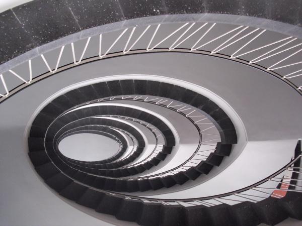 Treppe Neue Maxburg, München, Detailansicht